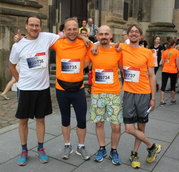 SpiraTec at the REWE Team Challenge in Dresden