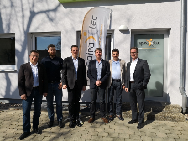 Inauguration of the new office in Biberach an der Riß